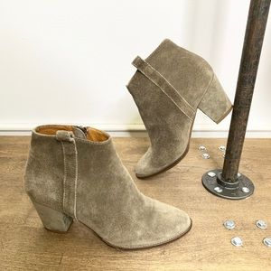 Madewell Ankle Suede  Booties